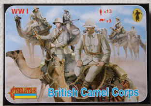 Strelets 1/72 ST0165 British Camel Corps (WW1)